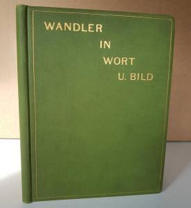 Glaser, Carl. Wandler in Wort u. Bild  1887 - 1897.