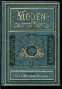 Sydow, Johanna von. Moden-  und Toiletten-Brevier.
