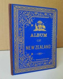 Album of New Zealand. Advance Australia. Leporello.