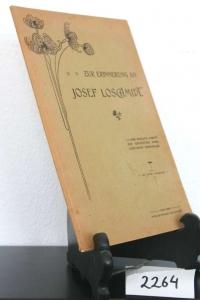 Zur Erinnerung an Josef Loschmidt.