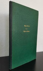 Aichhorn, Sigmund. Charaktere der höheren systematischen Einheiten des Thierreiches.