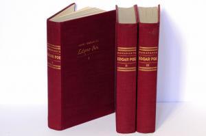 Bonaparte, Marie. Edgar Poe. Eine Psychoanalytische Studie. Mit einem Vorwort von Sigmund Freud.