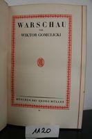 Gomulicki, Wiktor. Warschau.