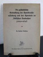Strickner, Herbert. Die geschichtliche Entwicklung der Sportberichterstattung und des Sportteils im Völkischen Beobachter (1920-1936).