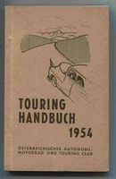 "<span style=""color:black;\"">Kubesch, Alfred (Red.)</span> Touring Handbuch 1954."