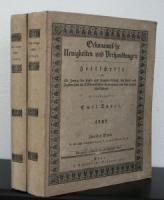André, Emil (Hrsg.). Oekonomische Neuigkeiten und Verhandlungen. 1837.