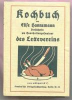 Hannemann, Elise. Kochbuch.
