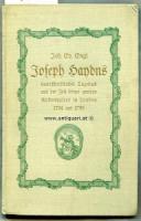 Engl, Joh. Ev. Joseph Haydns handschriftliches Tagebuch aus der Zeit seines zweiten Aufenthaltes in London 1794 und 1795.