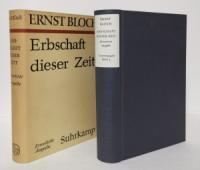Bloch, Ernst. Erbschaft dieser Zeit.