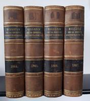 Combes; Peligot (Hrsg. / Pub.). Bulletin de la Société DEncouragement pour LIndustrie Nationale. 1864-1867.