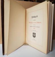 Weiß, Karl (Verf.). Festschrift aus Anlaß der Vollendung des neuen Rathhauses