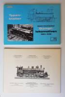 7 Typenblätter österreichischer Dampflokomotiven (k. k. österreichische Staatsbahnen).
